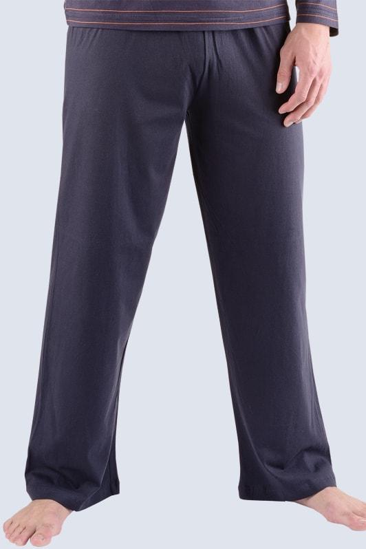 4c566ec3f16 Pánské kalhoty dlouhé pyžamové GINA 79709P černá