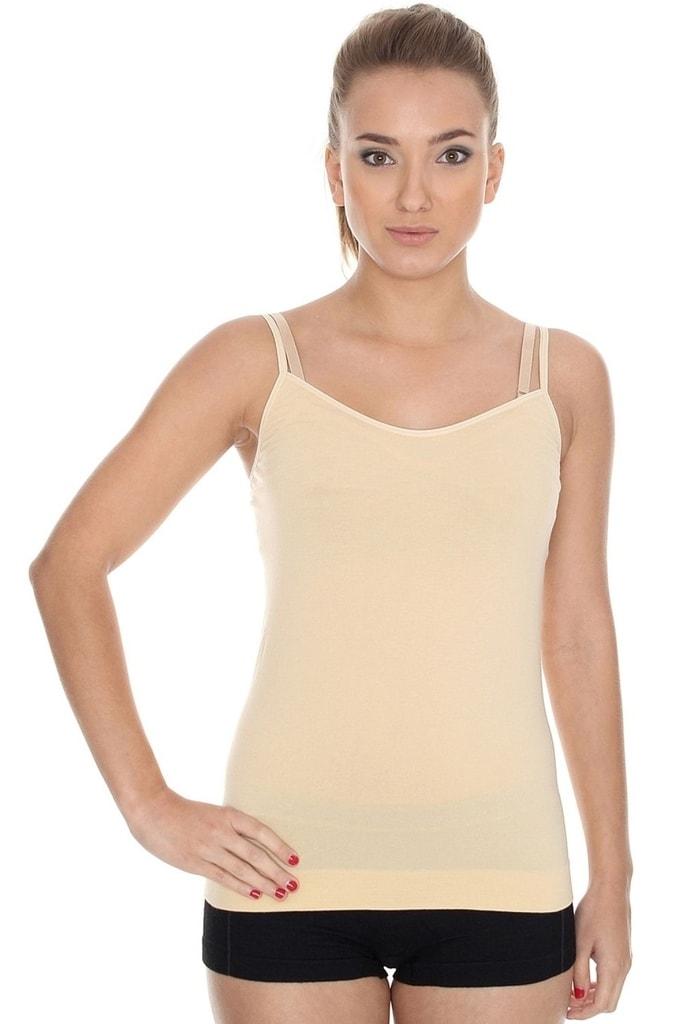 bf379415d2b Dámská košilka BRUBECK CM 00210 Camisole beige