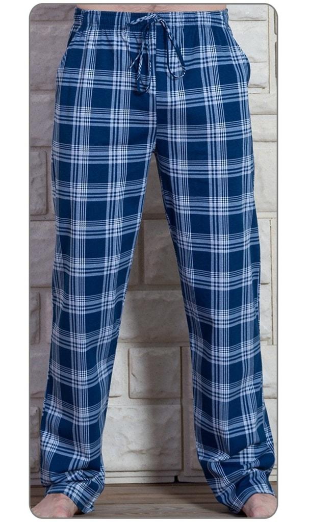 3f3234c62313 Pánské pyžamové kalhoty Jakub - modrá