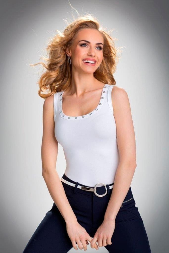 Dámská košilka ELDAR Kasandra bílá  354252a2d2
