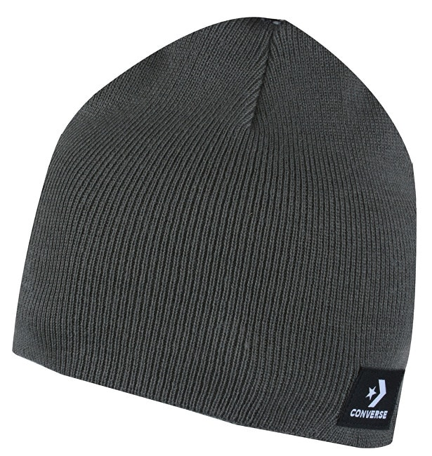 Čepice Standard Beanie Charcoal Grey  dec414d666