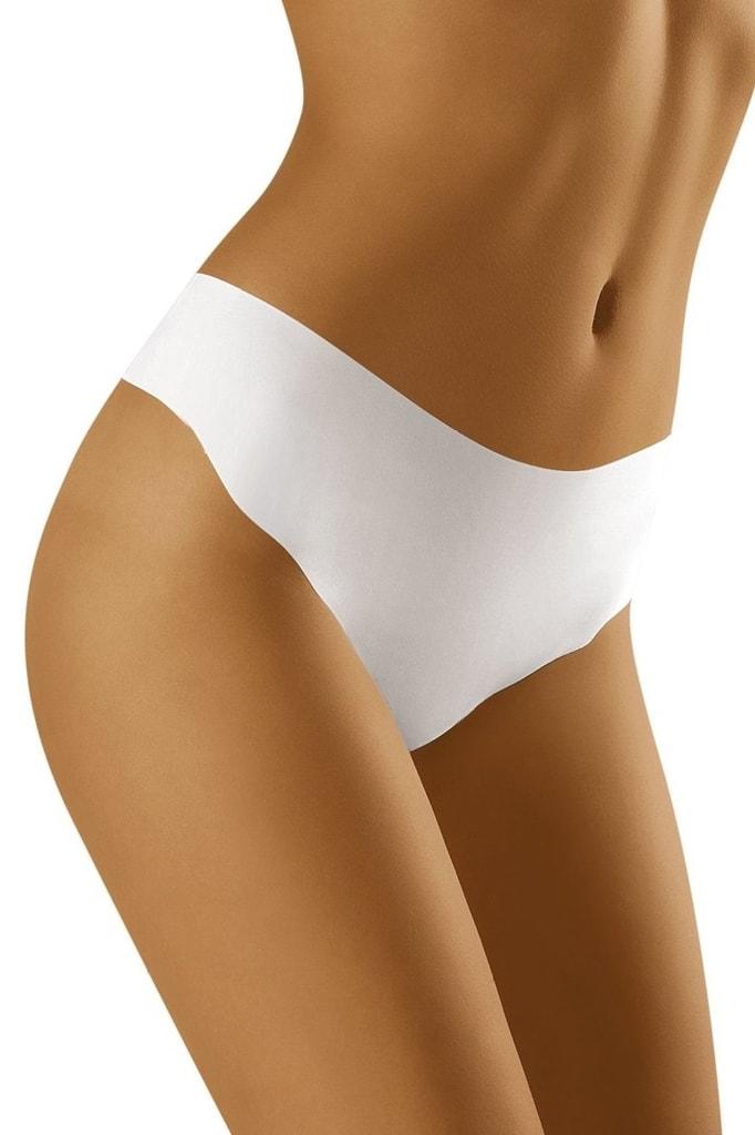 542f77e45e3 Bezešvé kalhotky tanga WOLBAR Elcanta bílé