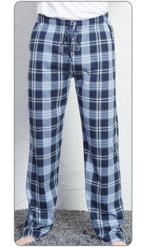e9ddd43dfc1 Pánské pyžamové kalhoty Martin - modrá