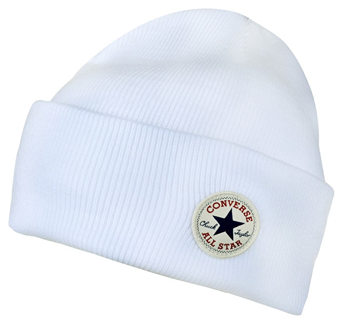 Čepice Tall Cuff Watchcap Knit Converse White  7ba50a6a09