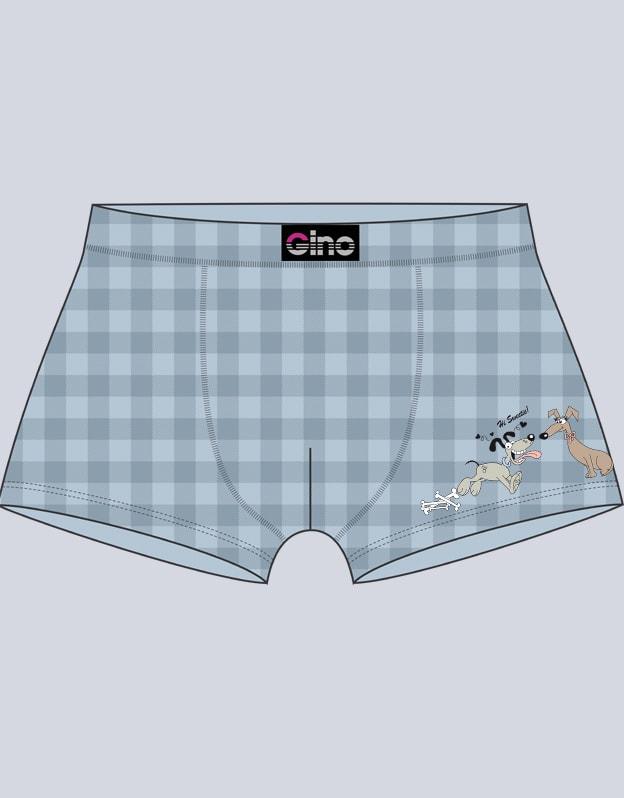 5a758d0e89c GINA pánské boxerky s kratší nohavičkou