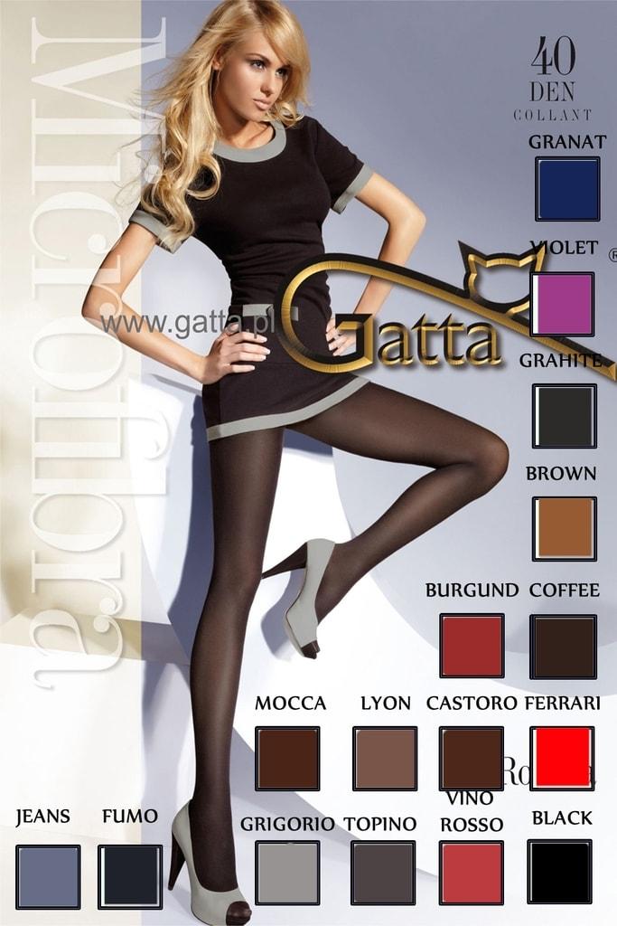 42a992b68d4 Dámské punčocháče GATTA Rosalia 40 castoro 5