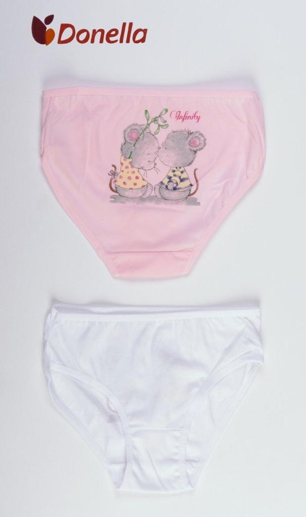 Dětské kalhotky Donella Malé myši - růžová  d728aafadf
