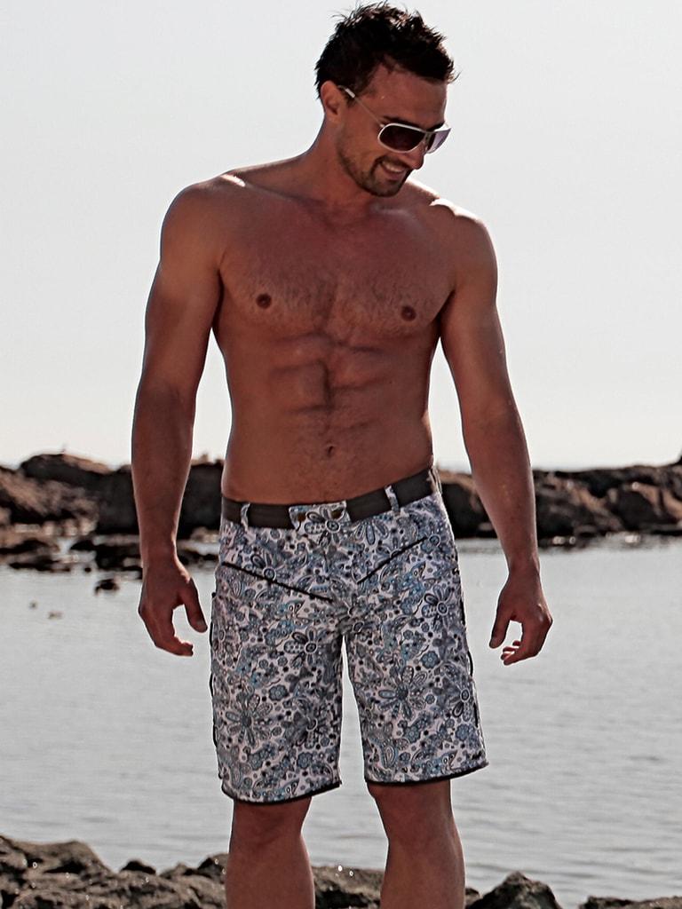 c4553e6e5 Luxusní pánské plavky GERONIMO kraťasy | šortky a delší plavky ...