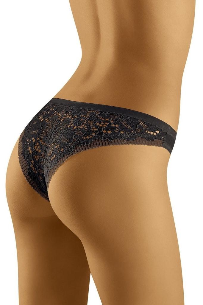 e9d2cdb1428 Dámské kalhotky WOLBAR Flossy černé