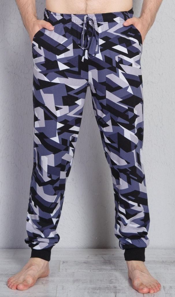 4b29ca3eee7d Pánské pyžamové kalhoty Aleš - šedá