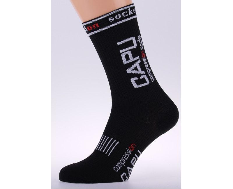 Kompresní ponožky CAPU Black C009-05  0e9f0b8de7