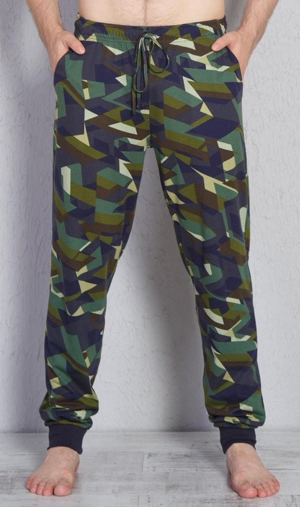 e0c2f3623d8a Pánské pyžamové kalhoty Aleš - zelená
