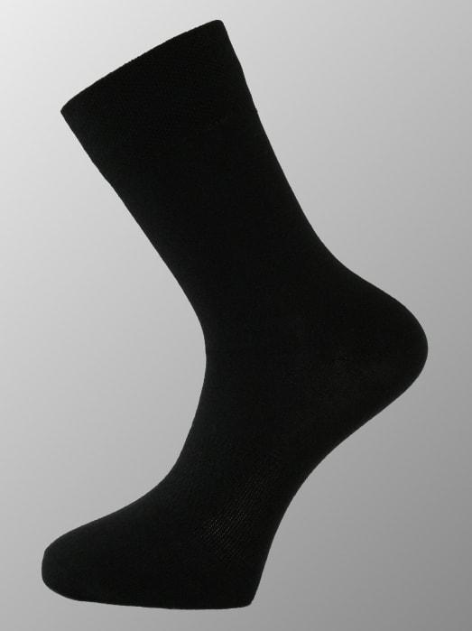 Ponožky s merino vlnou NANOSOX Comfort černé  dd4dbfac58