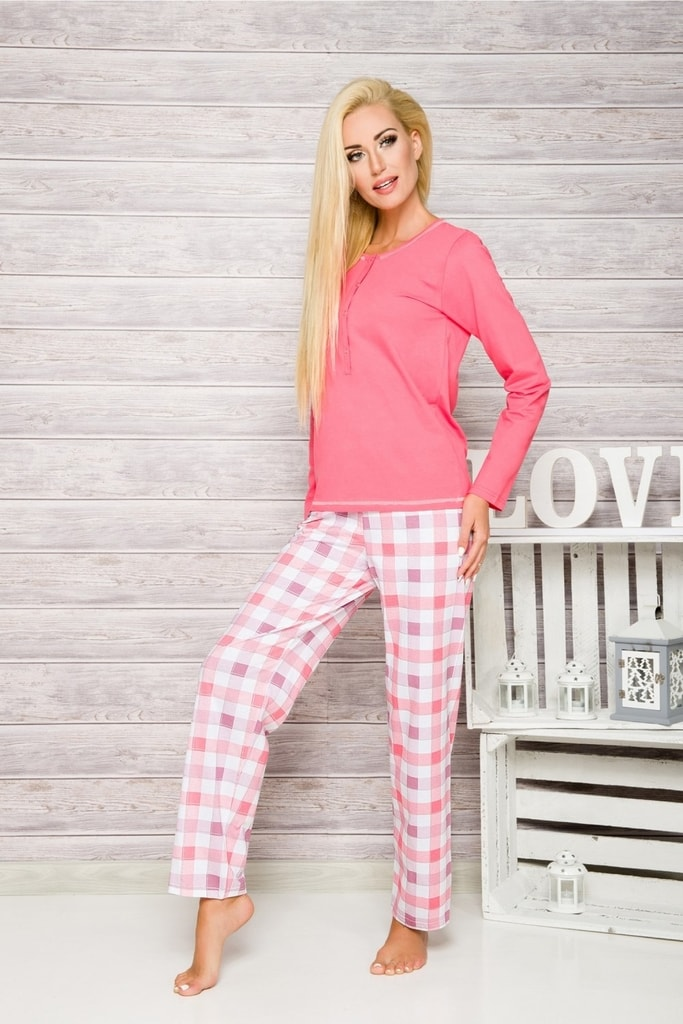 e8083ba49b3c Dámské pyžamo 2112 Nati pink