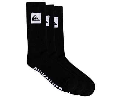 31baa945e69 Pánské ponožky Quiksilver 3 Crew Pack Black EQYAA03669-KVJ0 ...