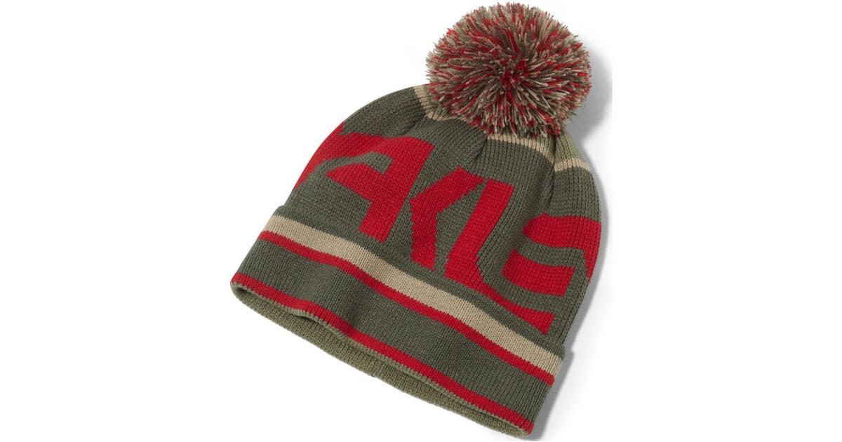 Zimní čepice OAKLEY Factory Winter Beanie 911026-465 Red Line ... 708686b19c