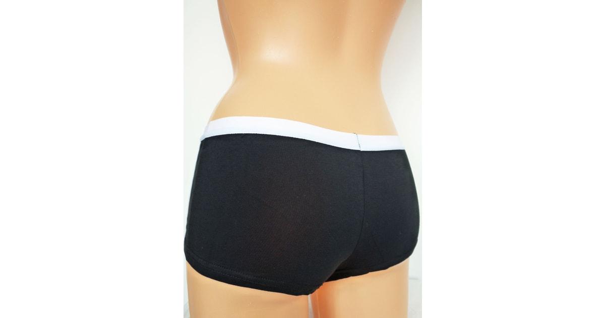 73483cc5538 Dámské kalhotky-boxerky Simply Me Fanny černé