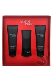 ARMANI Code For Men - EDT 50 ml + balzám po holení 75 ml + sprchový gel 75 ml