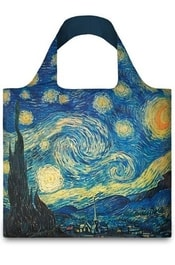 Nákupní taška LOQI Bag VINCENT VAN GOGH The Starry Night