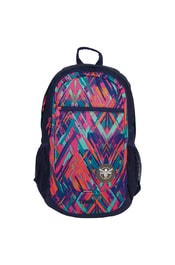 Studentský batoh Chiemsee Techpack two backpack Ethno splash