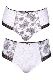 Sada dámských kalhotek Essentials 3P Bikini Heather Pale Blush Navy ... ebbc8cf918