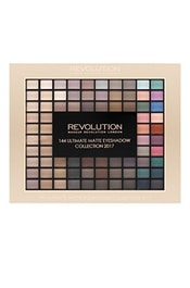 Paletka 144 matných očních stínů MAKEUP REVOLUTION Ultimate Eye Shadow Matte Palette 116 g