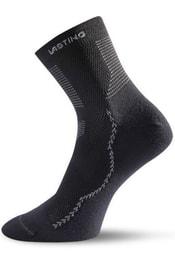 Ponožky s merino vlnou LASTING WXL černé  595d024ac5