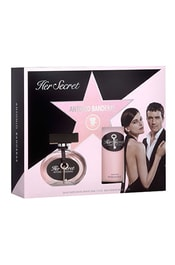 Antonio Banderas Her Secret - EDT 50 ml + tělové mléko 100 ml