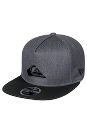 Kšiltovka QUIKSILVER Stuckles Snap Charcoal Heather AQYHA03989-KTAH