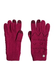 Dámské rukavice ROXY Girl Chlg Glove Persian Red ERJHN03086-MQW0