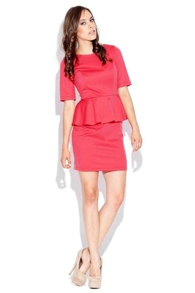 Dámské šaty KATRUS K020 červená  28c04c90405