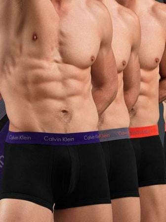 8684a285b Pánské boxerky CALVIN KLEIN Cotton Stretch 3 kusy v balení | boxerky ...