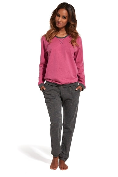 3c39cf8ed Dámské pyžamo CORNETTE 634/131 Holly 2 pink | Cornette | dlouhá ...