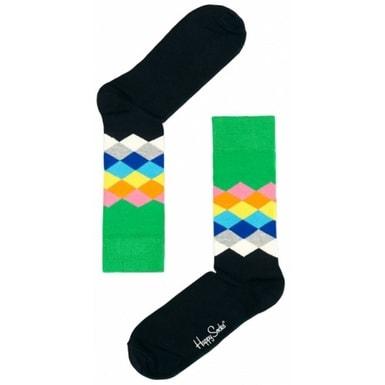 Vícebarevné ponožky Happy Socks FD01-077  4587b7840e