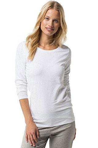 Dámské pyžamové tričko s dlouhým rukávem TOMMY HILFIGER Cotton Iconic 502f60b73c