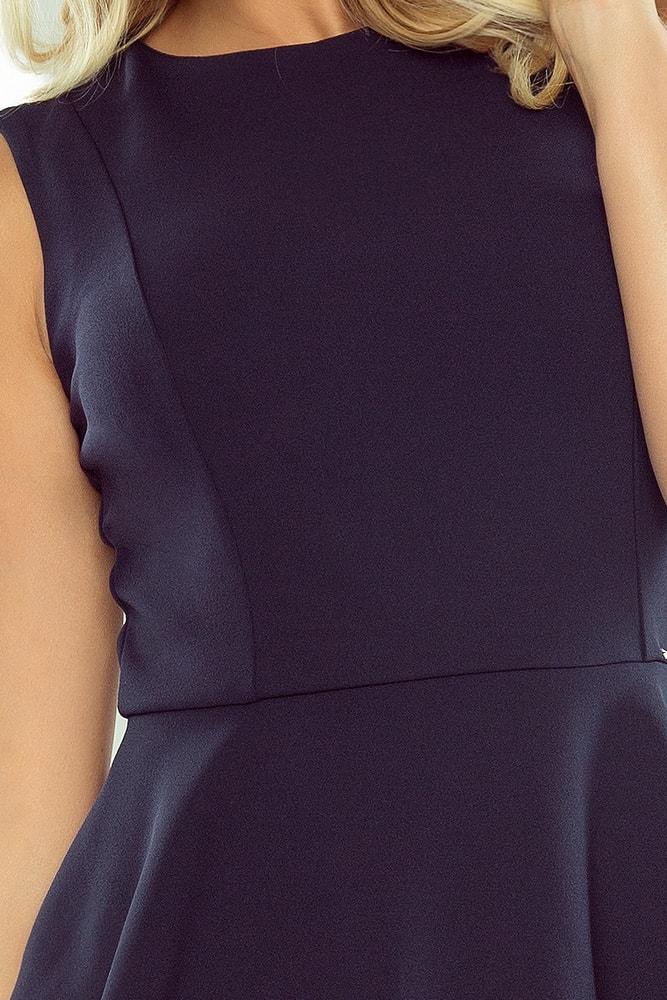 4a76e07df5bd Dámské šaty NUMOCO 178-2 tmavě modré