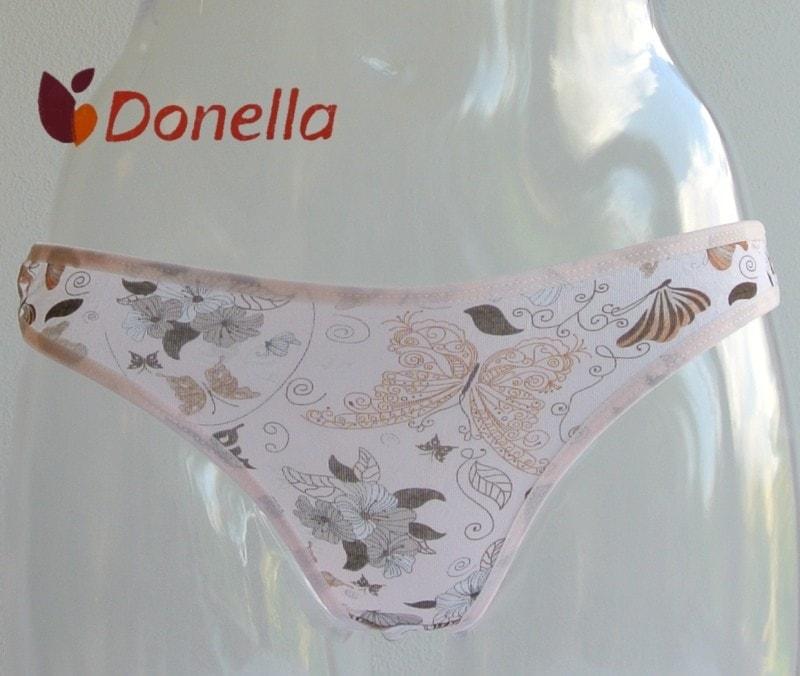 534160e7199 Dámské kalhotky DONELLA Dagmar meruňková