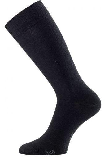 Černé vlněné ponožky Lasting DWA černé  0ae3e69f72
