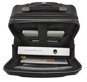 Palubní kufr na notebook Titan Xenon Deluxe Business Wheeler Brown