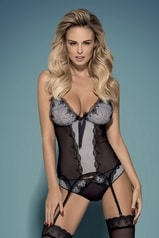 Erotický korzet OBSESSIVE Greyla corset
