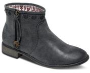 Kotníčkové boty Roxy Sira Boot Black ARJB700224-BLK