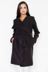 Dámský kabát FIGL M408 černý
