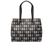 Elegantní černá kabelka DKNY Shopper