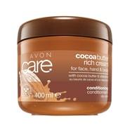 Pečující krém na obličej a tělo s kakaovým máslem a vitamínem E Care (Cocoa Butter Rich Cream) 400 ml