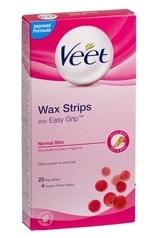 Studené voskové pásky pro normální pokožku VEET 12 ks