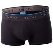 Boxerky s vnitřní kapsou FRIGO SUPERTRUNK černé