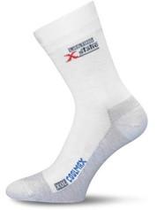 Turistické ponožky LASTING XOL bílé