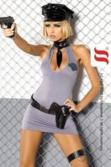 Erotický kostým OBSESSIVE Police XXL