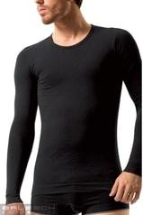 Pánské tričko BRUBECK LS 01120 Long sleeve černá