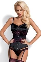 Erotický korzet OBSESSIVE Amarone corset XXL
